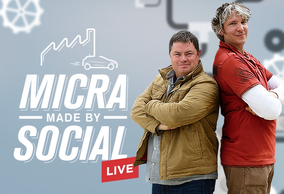 Micra x Wheeler Dealers